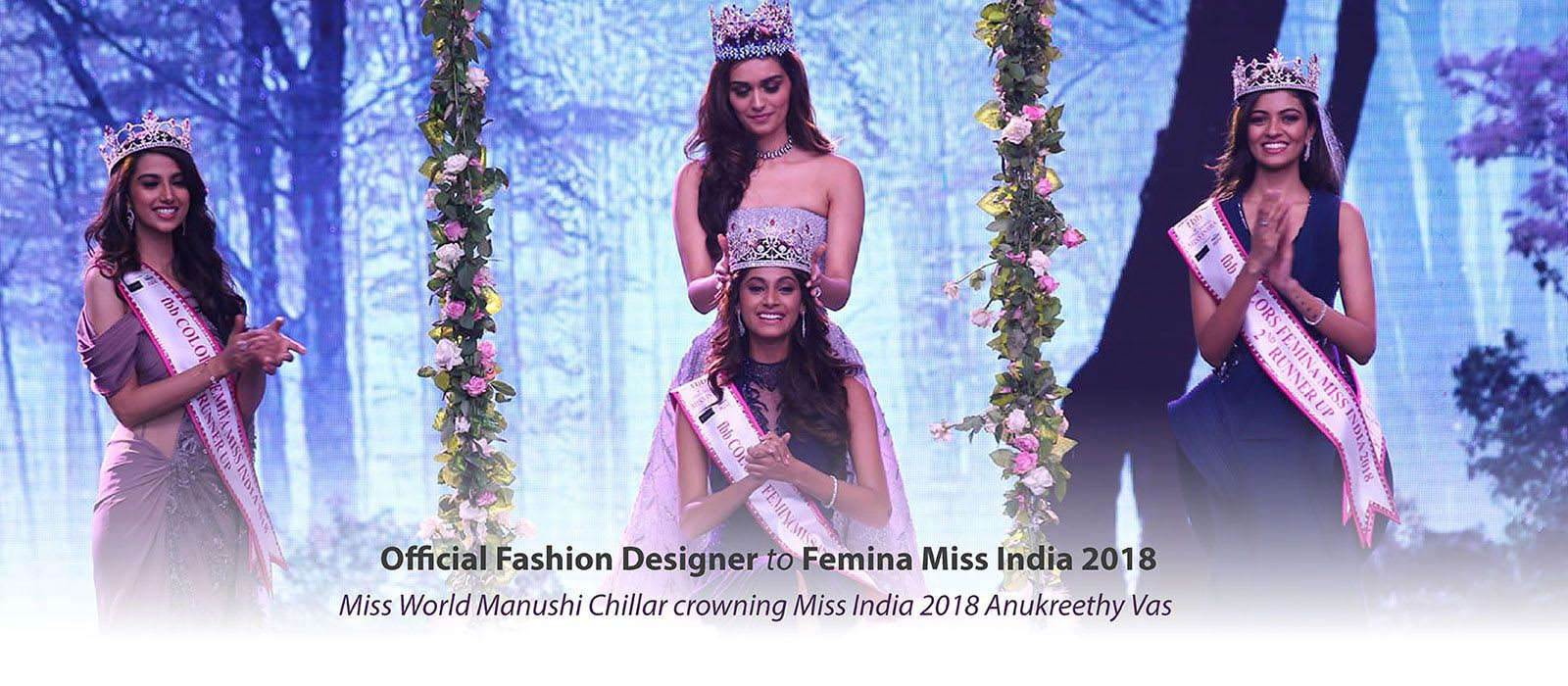 Miss World Manushi Chillar crowning Miss India 2018
