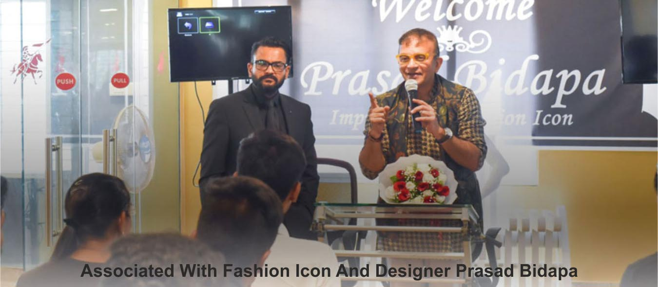 Fashion icon and Designer Prasad Bidapa